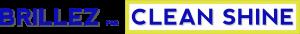 Brillez Par Clean Shine Logo in yellow, white and blue