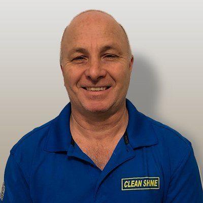 Rick Hurley National Service Coordinator pressure washing